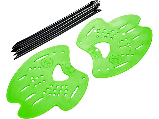 TYR Mentor 2 Håndpadler L, flou green